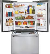 Counter Depth Refrigerator Width 30 by Lg Lfxc24726s 36 Inch Counter Depth French Door Refrigerator With
