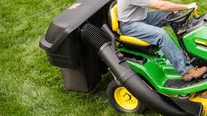 John Deere Stx38 Yellow Deck Removal by Riding Lawn Equipment Attachments John Deere Us