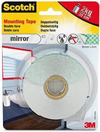 scotch 40031950 montageklebeband für feuchträume doppelseitig stark 19 mm x 5 m 1 rolle natur
