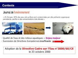 transposition de la directive cadre sur l eau ppt télécharger