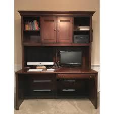 Ethan Allen Secretary Desk With Hutch by Ethan Allen British Classics Desk U0026 Hutch Aptdeco