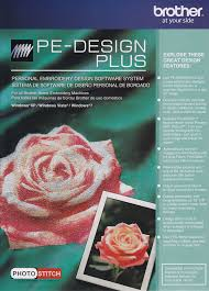 PE DESIGN PLUS Embroidery Editing Software By Brother