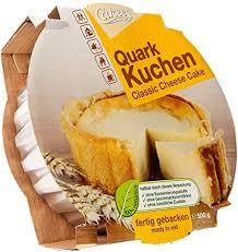 cakees klassischer quark kuchen fertig gebacken 2er pack 2 x 500 g