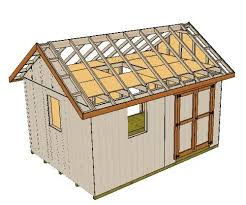 16x12 Shed Material List by Building A Shed Loft Made Easy