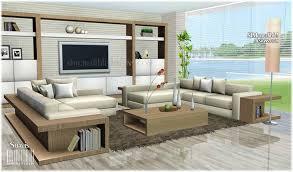 Sims 3 Modern Living Room Ideas Nakicphotography