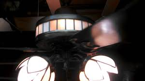 Ceiling Fans With Uplights by Energy Reduction Systems Ceiling Fan With Stained Glass Uplight