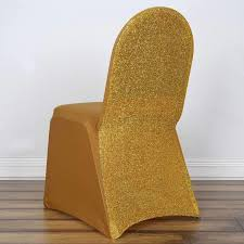 Gold Spandex Stretch Banquet Chair Cover With Metallic Glittering Back Chiavari Chairs Vs Chair Covers With Flair Gold Hug Cover Decor Dreams Blackgoldchampagne Satin Chair Covers Tie Back 2019 2018 New Arrival Wedding Decorations Vinatge Bridal Sash Chiffon Ribbon Simple Supplies From Chic_cheap Leatherette Quilted Fanfare Chameleon Jacket Medallion Decoration Package 61 80 People In S40 Chesterfield Stretch Spandex Folding Royal Marines Museum And Sashes Lizard Metallic Banquet Silver Outdoor