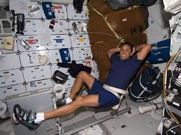 Mission Specialist Acaba Used The Shuttles Ergometer
