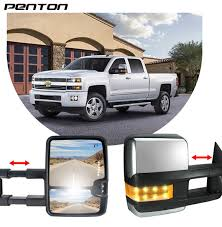 Buy Penton Power Heated Towing Mirrors For 03-06 Chevy Silverado Led ... 9907 Ford F234f550 Super Duty 0105 Excursion Ram Chrome Towing Mirror Arm Covers 1018 1500 W Mirrors Tow Or Leave Stock Mirrors Reg Cab Chevy And Gmc Duramax Tow On A Page 40 Truck Forum Mirror F150 Community Of Fans Pair Black Manual Extend 19992006 Silverado With Body Color Matching Skull Caps 4 2017 2007 Youtube Toyota Nation Car Forums Sets Upgrade Your Trucks Rear Visibility Lmc For Obss Archive Powerstrokearmy Amazoncom Fit System Ksource 80910 Chevygmc