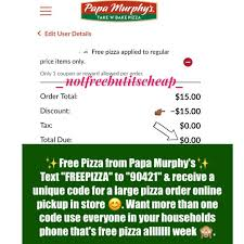 Textoffer - Hash Tags - Deskgram Order Online For Best Pizza Near You L Papa Murphys Take N Sassy Printable Coupon Suzannes Blog Marlboro Mobile Coupons Slickdealsnet Survey Win Redemption Code At Wwwpasurveycom 10 Tuesday Any Large For Grhub Promo Codes How To Use Them And Where Find Parent Involve April 26 2019 Ca State Fair California State Fair 20191023 Chattanooga Mocs On Twitter Mocs Win With The Exciting Murphys Pizza Prices Is Hobby Lobby Open Thanksgiving