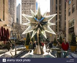 Rockefeller Plaza Christmas Tree by Swarovski Crystal Christmas Tree Star Replica Rockefeller Center