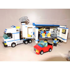 100 Lego Police Truck Lego Police Truck 7288 Toys Games Bricks Figurines On Carousell