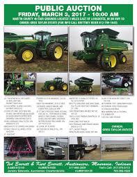 100 Taylor And Martin Truck Auctions Midwestauctioncom JD Tractorscombineheadsfarm Equipmentsemi