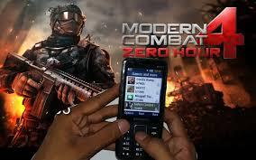 modern combat 4 zero hour review modern combat 4 zero hour gaming review on samsung metro xl