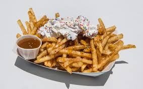 7 Outrageous New Foods To Try At The 2018 OC Fair - Anaheim News ... Orange County Fair Food 2017 Eating My Way Through Oc Having A Great Time At The Celebrates 125 With One Big Party For Your Tastebuds Peanut Butter Jelly And Sriracha Funnel Cake Yes Its Events Event Center Things To Do Family Fun Music Where To Eat Its Almost Time Free Inner Farmer Twists On Asian Street Make Waves Night Market 2018 Super Pass Costa Mesa Ca Nibbles Of Tidbits Blogthe Opened Today