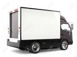 100 Black Truck Box Dark Brown Small Rear View Stock Photo Picture And