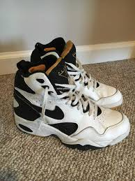 Spring Shoes Vintage 1993 Nike Air Maestro Flight Scottie Pippen Black Basketball Michael Jordan
