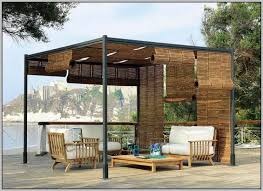 Roll Up Patio Screens by Roll Up Patio Shades Bamboo Patios Home Design Ideas 4v3n2va3kx
