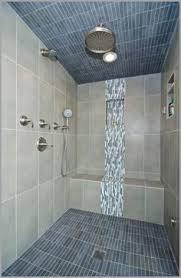 white porcelain tile shower 盪 comfy vertical accent tiles in