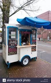 100 Crepe Food Truck EUGENE OR MARCH 9 2017 S And Jian Bing Food Truck On The