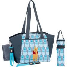 Winnie The Pooh Nursery Decor Ireland by Disney Baby Diaper Tote Bag Portable Travel Organizer Changing Pad
