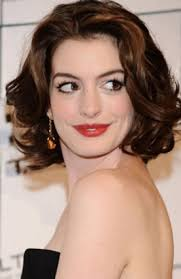 7 Of 11 Anne Hathaway Vintage Curly Bridal Short Bob Hairstyle For Women Over 50