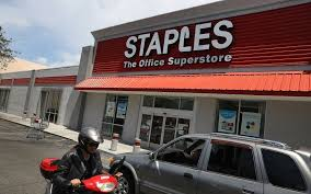 Staples dragged down by failed fice Depot merger