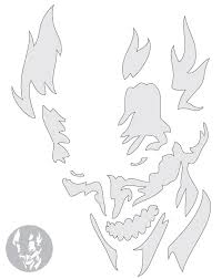 The Joker Pumpkin Stencil by Hauntedpumpkins Com
