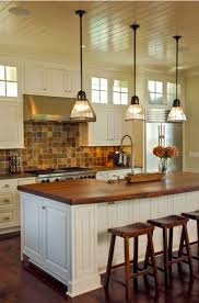 stem mounted pendants complete vintage charleston kitchen