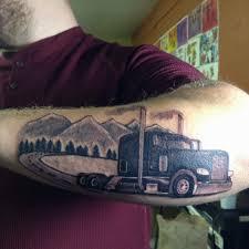 100 Truck Tattoo Lincolnt22 Semi Truck I Dod A Few Weeks Ago Art Artist