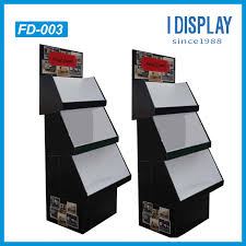 Creative POP Cardboard Floor Display With LCD Video
