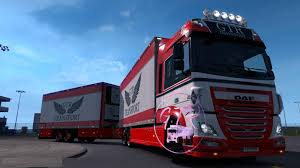 100 What Is A Tandem Truck DF XF EURO 6 TNDEM 133X TRUCK MOD Euro Simulator 2 Mods