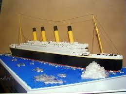 lego titanic model a lego creation by william w mocpages com