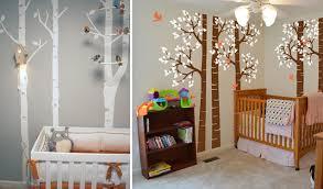 theme chambre b b mixte la déco forêt pour chambre bébé une affaire d intérprétation