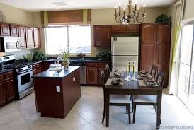 Kitchen Wall Paint Colors With Cherry Cabinets by Pictures Of Kitchens Traditional Dark Wood Kitchens Cherry Color