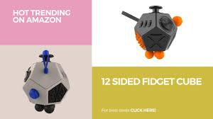 12 Sided Fidget Cube Hot Trending On Amazon