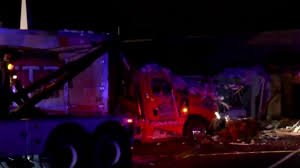 100 Church Truck Tractortrailer Crashes Into Pittsylvania County Church