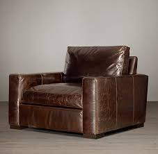 Restoration Hardware Sleeper Sofa Leather by Maxwell Leather Chair Special 2990 Ea Stocked In Italian Brompton