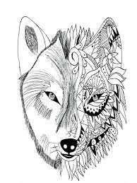 Wolf Tattoo In Two Parties Realistic And Style From The Gallery Pages Wolves Arctic Animal Jam