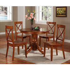 Home Styles Pedestal Dining Table Cottage Oak Walmart