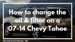 How To Change The Oil & Filter On A 2007-2014 Chevrolet Tahoe? - GMC ... 01995 Toyota 4runner Oil Change 30l V6 1990 1991 1992 Townace Sr40 Oil Filter Air Filter And Plug Change How To Reset The Life On A Chevy Gmc Truck Youtube Car Or Truck Engine All Steps For Beginners Do You Really Need Your Every 3000 Miles News To Pssure Sensor Truckcar Forum Chevrolet Silverado 2007present With No Mess Often Gear Should Be Changed 2001 Ford Explorer Sport 4 0l Do An 2016 Colorado Fuel Nissan Navara D22 Zd30 Turbo Diesel