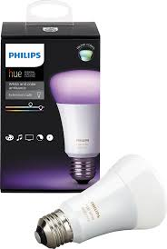 philips hue white and color ambiance a19 wi fi smart led bulb