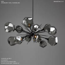 Black Wrought Iron Chandelier Awesome Gem Oval Starburst Chandelier