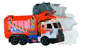 Amazon.com: Dickie Toys Light And Sound Garbage Truck: Toys & Games
