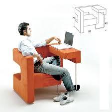 table pour ordinateur portable et imprimante petit bureau en bois