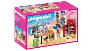 playmobil 70206 dollhouse familienküche