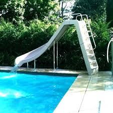Homemade Pool Slide Swimming Slides Cheap Residential Best For Sale Games Online Used Big