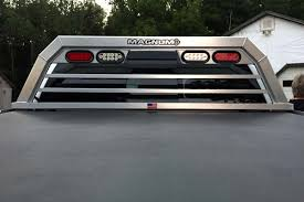 Truck Rack With Lights - Low Pro | Free Shipping | USA Made