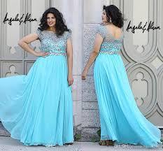 2015 light turquoise maternity angela plus size prom dresses