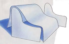 photo comment coudre un housse de canape recouvrir fauteuil